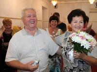 В Ялте чествовали юбиляров бриллиантовой свадьбы